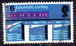 GREAT BRITAIN 1969 Post Office Technology Commemoration -1s6d Automatic Sorting  FU - Used Stamps