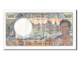 [#350005] Tahiti, 500 Francs Type 1969-71 ND, Pick 25b2 - Bankbiljetten