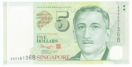 Singapour, 5 Dollars Type Yusof Bin Ishak - Singapour