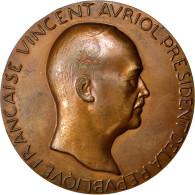 [#62545] Vincent Avriol, Médaille - Burdeles