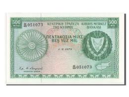 [#350027] Chypre, 500 Mils Type 1964-66, Pick 42c - Chypre