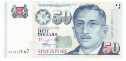 Singapour, 50 Dollars Type Yusof Bin Ishak - Singapore