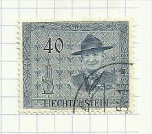 Liechtenstein N°280 Côte 8 Euros - Liechtenstein