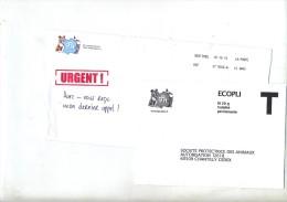 Enveloppe Reponse T Spa Theme Chien Chat - Entiers Postaux