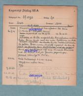 Document Ancien - STALAG VII A - Prisonnier J. SUC , Originaire De RETOURNAC ( Haute Loire ) , 53e R.A.D. - WW2 Régiment - 1939-45