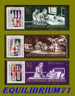 PA111/113** - 50e Anniversaire Des Sociétés De La Croix-Rouge - BURUNDI - 1962-69: Ungebraucht