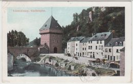 21933g LUXEMBOURG - Pont - Attelage  - Colorisée - Luxemburg - Stad