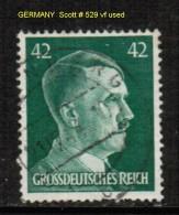 GERMANY    Scott  # 529 VF USED - Germany