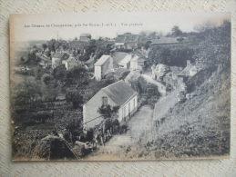AL6-37- LES COTEAUX DE CHANTERENNE PRES  STE MAURE -VUE GENERALE - Autres Communes