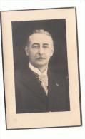 Leon VAN LANDEWYCK Wed. Marie-Valérie Vergucht Echtg. Elvire Marie De Vuyst Kontroleur Accijnzen Marquain 1871 Gent 1938 - Andachtsbilder