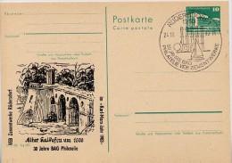 DDR P84-42b-83 C50-b Postkarte Zudruck ALTER KALKOFEN Rüdersdorf Sost. 1983 - [6] Repubblica Democratica