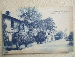 AL6 - 85 - LA BARRE DE MONTS S -  LA MAIRIE ET LA ROUTE DE LA GARE - Autres Communes