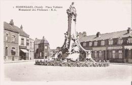 ROSENDAEL (NORD) 1 PLACE VOLTAIRE MONUMENT DES PECHEURS - Frankreich