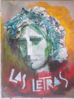 LIBRO LAS LETRAS CARMEN CONDE POESIA+DISEÑO,CURIOSO.INTERESANTE.UNICO PARA VENTA,MURCIA. - Cultura