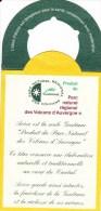 """Etiquette AVEZE Gentiane """"Produit Du Parc Naturel Des Volcans D'Auvergne"""" - Other"""