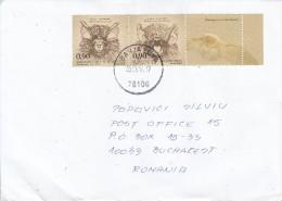 BOSNIA & HERZEGOVINA : BATS On Cover Circulated To ROMANIA - Envoi Enregistre! Registered Shipping! - Bosnia Erzegovina