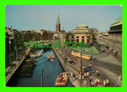 COPENHAGEN, DANMARK - FREDERIKSHOLMS KANAL - CHRISTIANSBORG PALACE - - Danemark