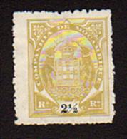 B4275  Mozambique 1895-07  2.5r  ( Sc# 10 )  Un Canceled & Hinged - Mozambique
