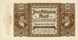 Deutschland, Germany - 2 Mio. Mark, Reichsbanknote, Ro. 89 A ,  ( Serie E/S ) XF+ ( II+ ), 1923 ! - 2 Millionen Mark