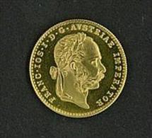 AUSTRIA  - 1 DUCATO ORO - FRANC - IOS - I - D - G - AUSTRIAE IMPERATOR - 1915 FDC FIOR DI CONIO - RARA - Austria