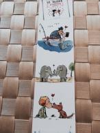 Marque Page Sirène éléphant - Marque-Pages