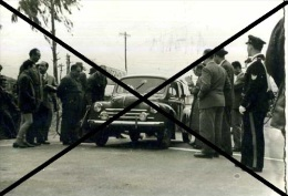 X GARA IN SALITA AL MONTEPELLEGRINO PALERMO START ANNI 50 FOTO AGENZIA 10X14 - Automobili