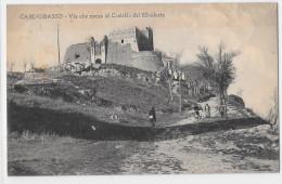 MOLISE-CAMPOBASSO VIALE DELLA RIMEMBRANZA E  CASTELLO DEI MONFORTE - Campobasso