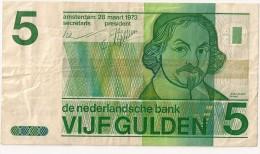 5 Gulden 1973 - PAYS BAS - - [2] 1815-… : Koninkrijk Der Verenigde Nederlanden