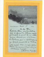 ROYAUME-UNI / ANGLETERRE / LONDON / VICTORIA EMBANKMENT / Carte à La Lune / 2 SCANS - River Thames