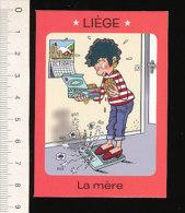Humour Belge / Liège - Lacquements / Balance à Peser Régime Alimentaire / Lacquement Lacquemant Lacquemants  / IM 126/21 - Vieux Papiers