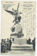 Bordeaux Armée Active Corps Francs Monument Elevé En 1913 - Bordeaux