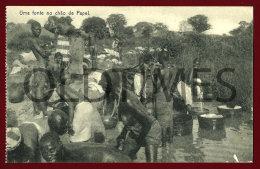 GUINE-BISSAU - UMA FONTE NO CHAO DE PAPEL - 1910 PC - Guinea-Bissau