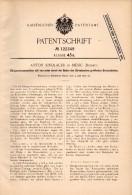 Original Patent - Anton Sindlauer In Mesic I. Böhmen , 1900 , Dünger - Streumaschine , Agrar , Landwirtschaft !!! - Maschinen