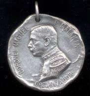 CORONEL MIGUEL P. MALARIN - CUERPO DE ARCHIVISTAS MILITARES - ORGANIZADOR - SEGUNDO ANIVERSARIO 1902-1904 RARISIME - Fichas Y Medallas