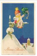 S639 - Bonne Année - Fillette - New Year