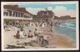 WATCH HILL Rhode Island Bathers On Beach Public Bath-House And Club - Etats-Unis