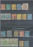 France Lot De 27 Timbres Avec Cachets De Tunisie - 1877-1920: Période Semi Moderne