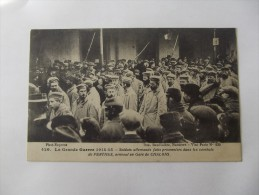 La Grande Guerre 1914 - 15 - Soldats Allemands Faits Prisonniers Dans Les Combats De PERTHES - Guerra 1914-18