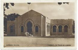CPA SENEGAL - KAOLACK - CARTE PHOTO - Le Palais De Justice - Senegal