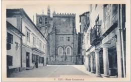 Tuy - Plaza Consistorial - Espagne España Spain ( 2 Scans ) - Pontevedra