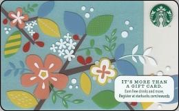 Amerika Starbucks Gift Card Spring Flower 2013-6096 - Gift Cards