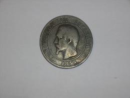 Francia 10 Centimos 1855 B (5370) - D. 10 Céntimos