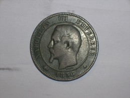 Francia 10 Centimos 1856 BB (5373) - D. 10 Céntimos