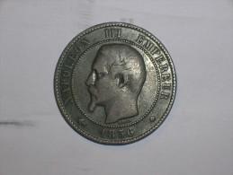 Francia 10 Centimos 1856 BB (5373) - Francia