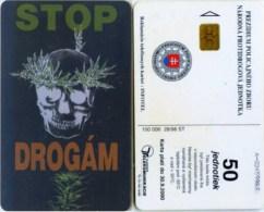 Telefonkarte Slowakei - Stoppt Drogen - Aufl. 100000 - 28/98 - Slowakei