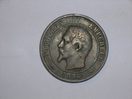 Francia 10 Centimos 1856 W (5374) - Francia
