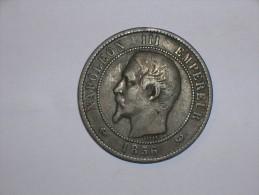 Francia 10 Centimos 1856 W (5374) - D. 10 Céntimos