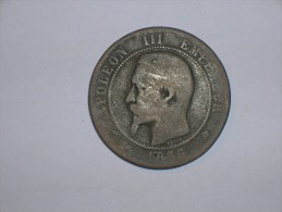 Francia 10 Centimos 1856 K (5375) - Francia