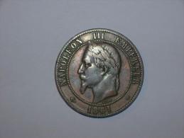 Francia 10 Centimos 1861 BB (5376) - Francia