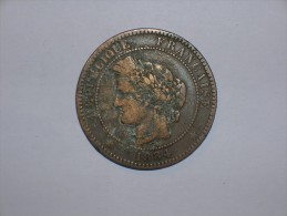 Francia 10 Centimos 1884 A (5381) - D. 10 Céntimos